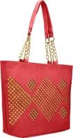 tap fashion Women Pink PU Shoulder Bag