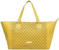 Addons Tote Shoulder Bag(Yellow, 5 L)