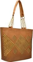tap fashion Shoulder Bag(Tan)