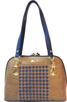Mex Hand-held Bag(Blue, Brown)