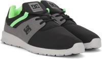 DC HEATHROW M SHOE Sneakers For Men(Black, Grey)