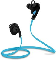 Arfuzone BTHEADSET1 Headset with Mic(Blue, Black, In the Ear)