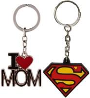 Alexus Mom And Superman Key Chain(Silver)