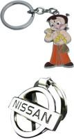 Alexus Chotabheem And Nissan Key Chain(Silver)