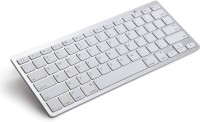 View Evana Duo 309 Bluetooth Multi-device Keyboard(White) Laptop Accessories Price Online(Evana)