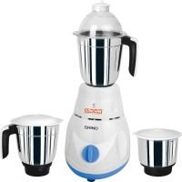 Kanchan Grind 600 W Mixer Grinder(White, 3 Jars)