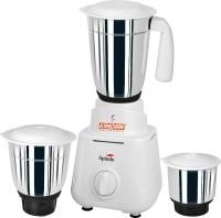 Kanchan Spindo 500 W Mixer Grinder(White, 3 Jars)