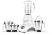 Orient Electric MGAC75G4 750 W Mixer Grinder(White and Grey, 4 Jars)