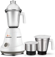 Orient Electric MG7504G 750 W Mixer Grinder(White and Grey, 3 Jars)