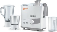 Orient Electric JMES50G3 500 W Juicer Mixer Grinder(White and Grey, 2 Jars)