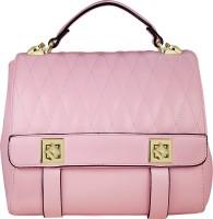 AZEEZ Women Pink Rexine Hand-held Bag