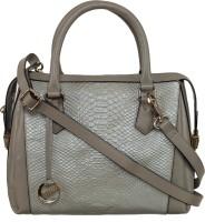 Klasse Women Green Genuine Leather Hand-held Bag