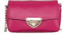 Klasse Women Purple Genuine Leather Sling Bag