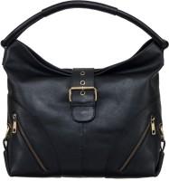 Klasse Women Black Genuine Leather Shoulder Bag