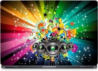 HD Arts Music Colourful ECO Vinyl Laptop Decal 15.6