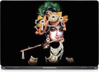 HD Arts Flute Krishna ECO Vinyl Laptop Decal 15.6