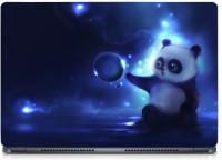 HD Arts Cute Panda Night ECO Vinyl Laptop Decal 15.6