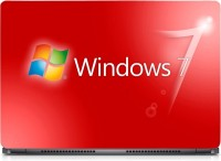 View HD Arts Windows 7 Red ECO Vinyl Laptop Decal 15.6 Laptop Accessories Price Online(HD Arts)