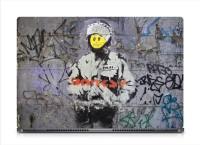 HD Arts Banksy Poster ECO Vinyl Laptop Decal 15.6