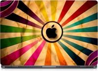 HD Arts Coloured Graphic Black Apple ECO Vinyl Laptop Decal 15.6