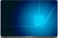 HD Arts Desires Like Sky ECO Vinyl Laptop Decal 15.6