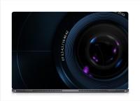 HD Arts Close Camera Lens ECO Vinyl Laptop Decal 15.6
