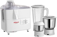 Sunflame ULTIMA 450 W Juicer Mixer Grinder(White, 3 Jars)