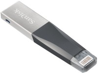 SanDisk iXpand Mini Flash Drive 16 GB Pen Drive(Silver)