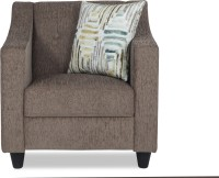 View Urban Living Derby Fabric 1 Seater Standard(Finish Color - Grey) Price Online(Urban Living)