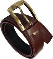 Fashius Men Brown Genuine Leather Belt
