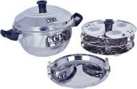 KCL Idly Pot Induction & Standard Idli Maker(3 Plates , 12 Idlis )