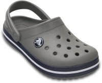 Crocs Boys Slip-on Clogs(Grey)