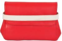 AzraJamil Women Red Genuine Leather Hand-held Bag