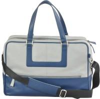 AzraJamil Women Blue Genuine Leather Shoulder Bag