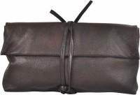 AzraJamil Women Brown Genuine Leather Hand-held Bag