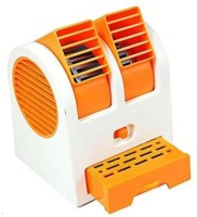 View Kumar Retail USB Cooler Perfume Cooler USB Fan(Orange) Laptop Accessories Price Online(Kumar Retail)