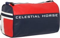 Celestial Horse Synthetic Compact 15 ltrs GYM Bag Multipurpose Bag(Red, 15 L)