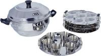 KCL Idly Pot Induction & Standard Idli Maker(3 Plates , 21 Idlis )