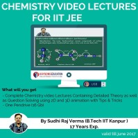 Kaysons Education IIT JEE Chemistry Preparation Material (2019) : Video Lectures for JEE Main and Ad