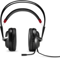 HP OMEN with SteelSeries - X7Z95AA Wired Headset with Mic(Black, On the Ear)
