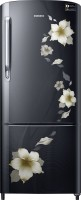 SAMSUNG 230 L Direct Cool Single Door 4 Star Refrigerator(Star Flower Black, RR24M274YB2/NL)