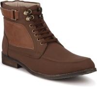 Ziera Marceau Brown Boots For Men(Brown)