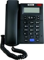 View Sonics SS-517 Corded Landline Phone(Black) Home Appliances Price Online(Sonics)