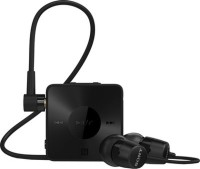 Sony SBH-20BB Headset with Mic(Black, In the Ear)