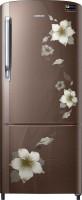 SAMSUNG 192 L Direct Cool Single Door 4 Star Refrigerator(Star Flower brown, RR20M272YD2/NL,RR20M172YD2/HL)