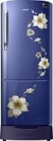 SAMSUNG 230 L Direct Cool Single Door 4 Star Refrigerator(Star Flower Blue, RR24M289YU2/NL)