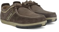 Woodland Leather Outdoor Shoes(Brown)