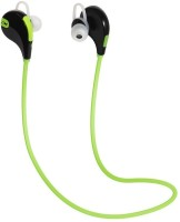 rejuvenate PROFESSIONAL QY7 JOGGER 4.1 Headset with Mic(Green, In the Ear)