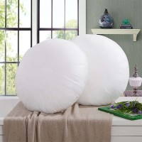StyBuzz Solid Decorative Cushion Pack of 2(White)