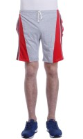 Tees Tadka Solid Men's Multicolor Night Shorts